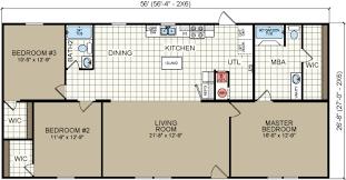 double wide floor plans 2 bedroom. 3 Bed 2 Bath Mobile Home Floor Plans Double Wide Bedroom