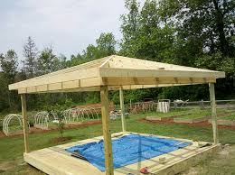 build gazebo roof build gazebo roof insider how to build a gazebo on a deck garden