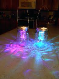 ball jar lights 2 hanging color changing solar mason jar lids ball jar lights make your own solar