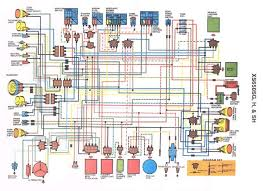yamaha 650 wiring schematic yamaha automotive wiring diagrams 1976 yamaha xs650 wiring diagram the wiring