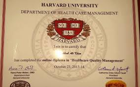 my mahboob ali khan my harvard prestigious diploma in  its not so easy journey i was squeezed in 3 rare research papers which i had submitted on health care quality improvement at harvard