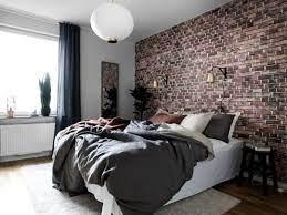 brick wall bedroom brick bedroom