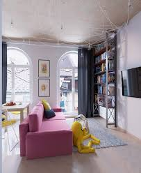 Colorful Interior Design colorful apartment interior design with charming feature roohome 5550 by uwakikaiketsu.us