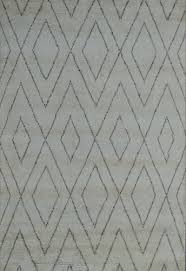 rectangular hand knotted woolen beni ourain moroccan rugs