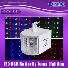 cheap lighting effects. wholesalergbwop 6 color dmx stage light led disco beam effect butterfly lamp lighting cheap price with good quality qy3525 effects y