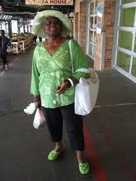 Gladys Skinner at the City Market