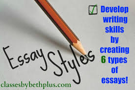 essay styles