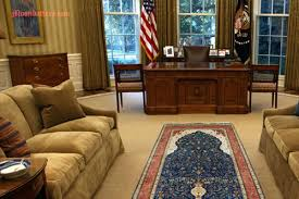 oval office rugs. If I Recall Correctly The Oval Office Faces South And West, So It Would Have To Be Flipped Face East, But You Get Idea. Rugs
