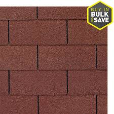 Shop GAF ROYAL SOVEREIGN 3333 sq ft Russet Red 3 Tab Roof Shingles