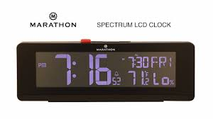 Marathon <b>Watch</b> - COLOR CHANGING SPECTRUM <b>LED ALARM</b> ...