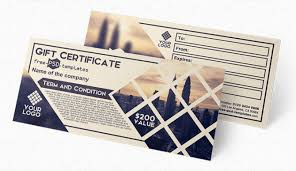 Gift Certificates For Your Business 10 Best Free Gift Voucher Gift Certificate Templates For Designers