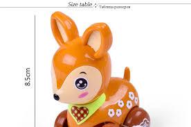 <b>1Pcs Funny</b> Colorful Clockwork Toy <b>Baby</b> Kid Deer Running ...