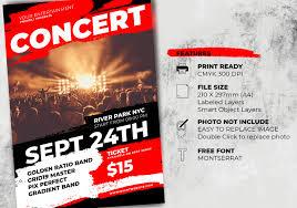 Concert Flyer Templates Free Zip Descargar Music Concert Flyer Template Free Photoshop