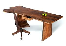 wood home office desks. Reclaimed Wood Desks Home Office Unique Desk With Solid Slab Tops Apples A