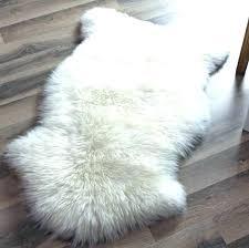 faux animal skin rugs fake fur rug perfect sheepskin with game of thrones