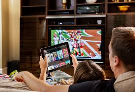 watching netflix on tv. as netflix, hbo go, and others have disrupted traditional tv viewing advertising models, marketers are looking for ways to keep up \u2014 target ads watching netflix on tv