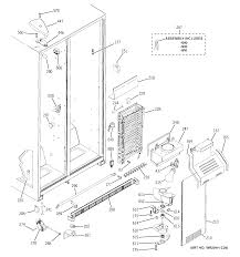 ge model gsh22jsddss side by side refrigerator genuine parts