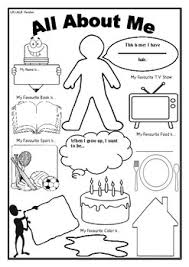 All About Me Worksheets Pdf All About Me Worksheet First Day Of School Activity