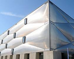 ... philippe starck wraps le nuage fitness center with a bubble-like faade  in france