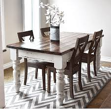easy dinner table plans. diy farmhouse kitchen table - i heart nap time easy dinner plans