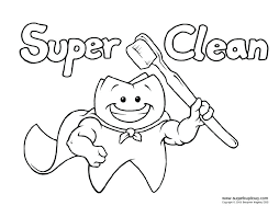 healthy teeth coloring pages dentist coloring pages for preschool printable dental coloring pages dental stuff dental