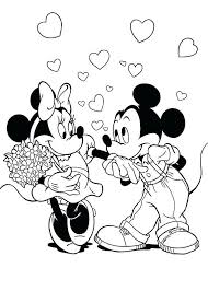 Valentines Coloring Pages Disney Coloring Pages Free Printable