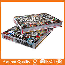 ce certificate english book printing coffee table book king fu printing