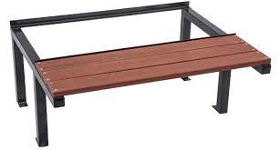 timber office furniture. super strong locker stand with timber slat seat office furniture e