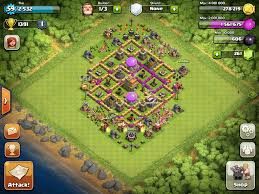 Base 7 Top 10 Clash Of Clans Town Hall Level 7 Defense Base Design