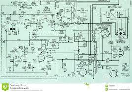 electronic circuit schematic detail diagram royalty free stock circuit drawing software at Free Circuit Diagrams