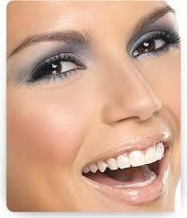 gray and silver eyeshadow olive skin brown eyes lip