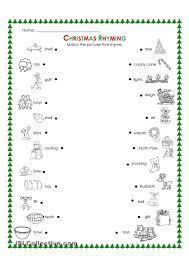 Christmas Worksheets for Intermediate Students   Homeshealth.info
