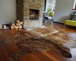 details about cowhide rug brindle brazilian cow hide rug area rugs hair on hide