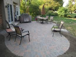 image of low paver patio ideas