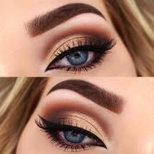 image result for prom makeup for blue eyes