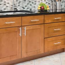 Small Picture Kitchen Cabinet Handles With Contemporary Kitchen Sleek Pulls Bhg