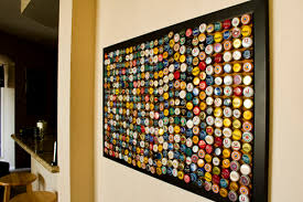 Decorated Bottle Caps Stylish Decoration Bottle Cap Wall Art Adorable 60 Design Ideas Of 12