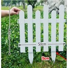 mini white picket fence for garden 2