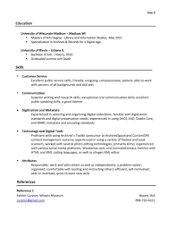 Librarian Assistant Resume Objective Examples Library Media