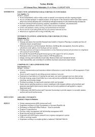 Corporate Administrator Sample Resume Corporate Administrator Resume Samples Velvet Jobs 4