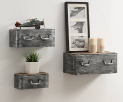Hanging wall storage Wall Shelf Williston Forge Krish 165 Wayfair Williston Forge Krish 165