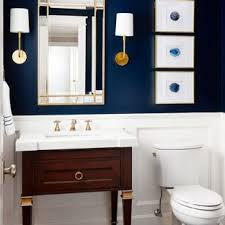 Small powder room design Tile Small Transitional Gray Floor And Porcelain Floor Powder Room Photo In Chicago With Furniturelike Houzz 75 Most Popular Small Powder Room Design Ideas For 2019 Stylish