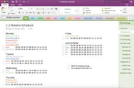 Onenote Daily Journal My Digital Bullet Journal Onenote Mary Plethora