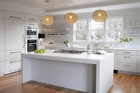 modern cottage kitchen design. Modern Cottage Kitchen With Flat Front Cabinets Design R