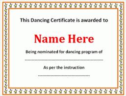 Performance Certificate Sample Certificate Of Performance Template Major Magdalene