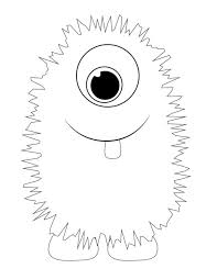 Small Picture Monster Coloring Sheets Coloring Pages Kids