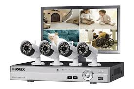Security Camera System Featuring Four Wireless HD P And Four - Exterior surveillance cameras for home