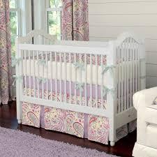 fascinating baby girl nursery room decoration using paisley baby girl bedding set astounding girl baby