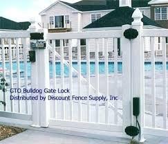 pool gate lock locks bunnings