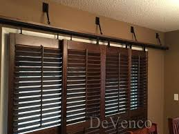 bypass plantation shutters for sliding glass doors sweet idea plantation shutters for patio doors sliding door
